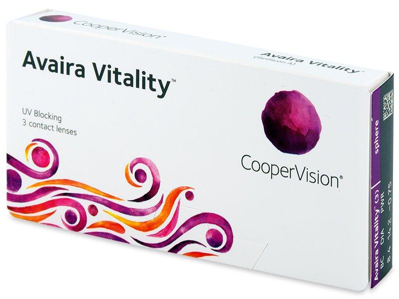 Avaira Vitality (3 lentile)