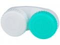 Accesorii lentile de contact - Suport pentru lentile verde și alb, cu marcajul L/R