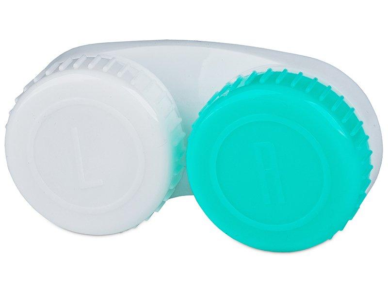 Suport pentru lentile verde și alb, cu marcajul L/R