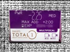 Dailies TOTAL1 Multifocal (30 lentile)