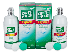 Soluție OPTI-FREE Express 2x355ml