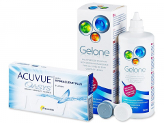 Acuvue Oasys (6lentile) +soluțieGelone360ml