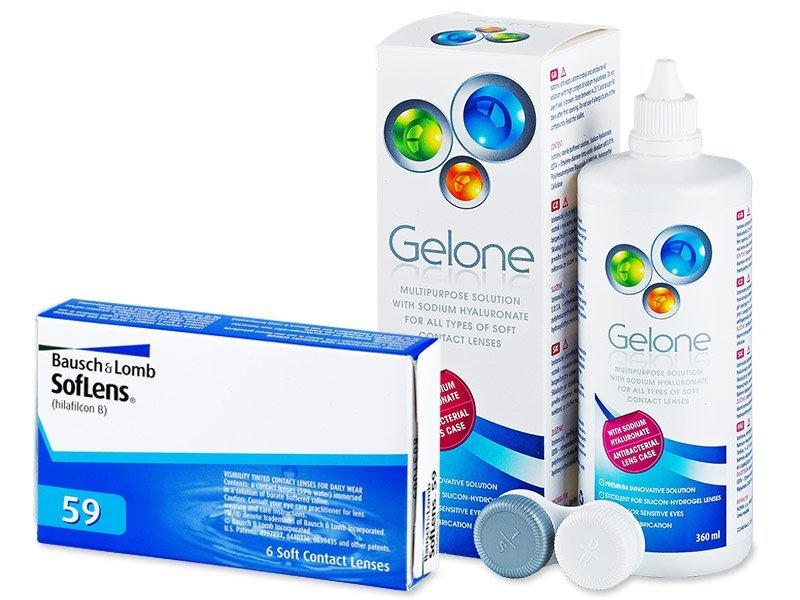 SofLens 59 (6lentile) +soluțieGelone360ml