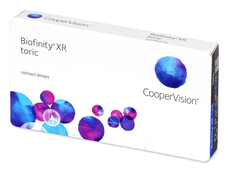 Biofinity XR Toric (3 lentile)