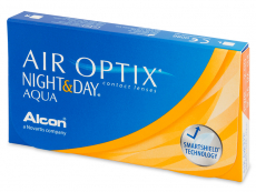Air Optix Night and Day Aqua (6 lentile)